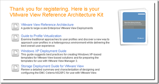 VMware View Reference Architecture