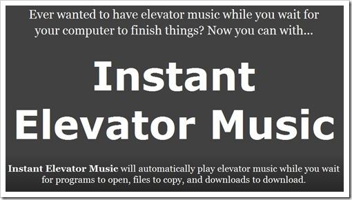 Instant Elevator Music