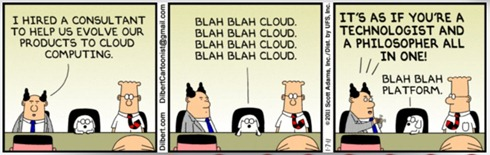 Dilbert cloud computing