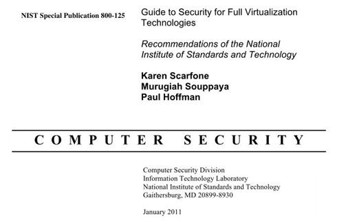 NIST security