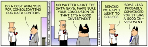 Dilbert on consolidation